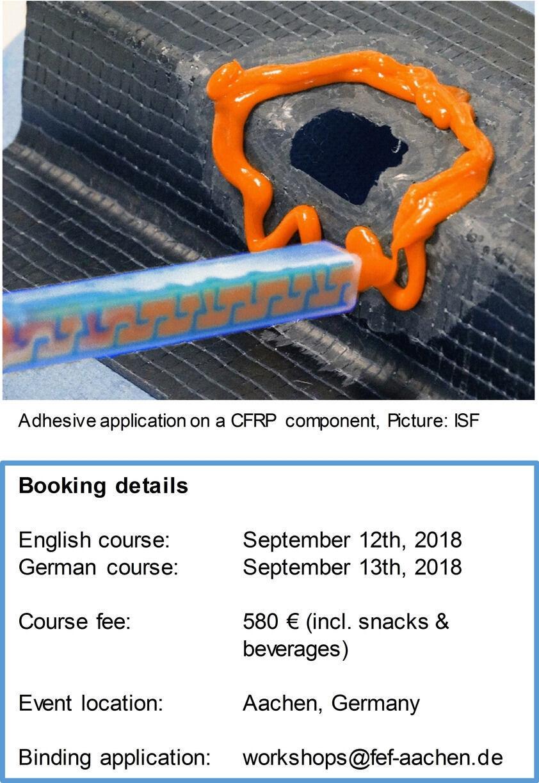 Basics Seminar Adhesive Bonding - RWTH AACHEN UNIVERSITY Welding and